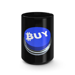 Bitcoin Buy Black Mug 15oz