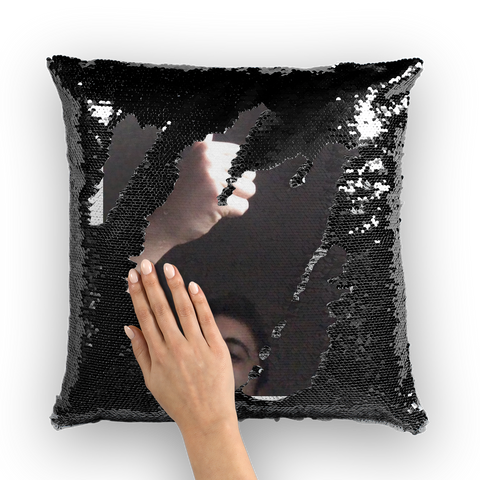 Codey Sequin Cushion Cover