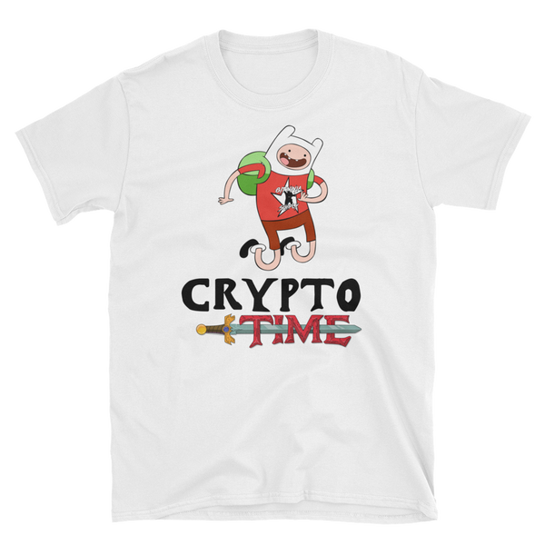 Crypto Time Unisex T-Shirt