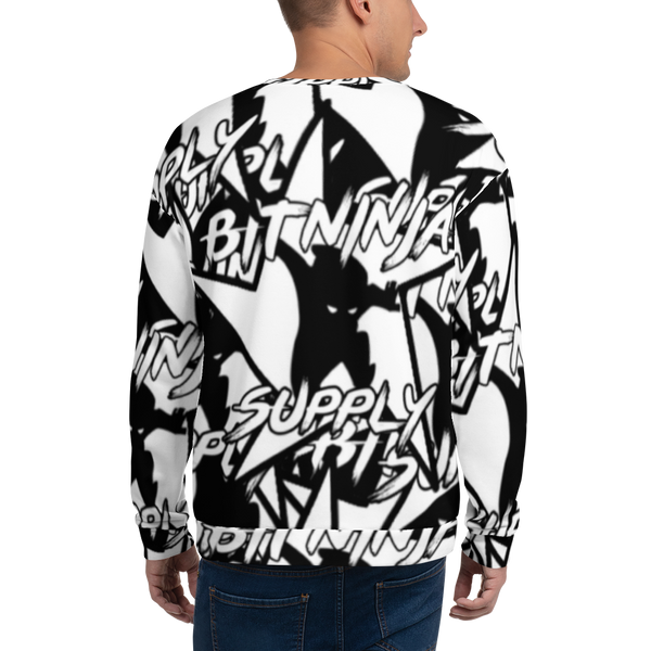 Bitninja All Over Unisex Sweatshirt