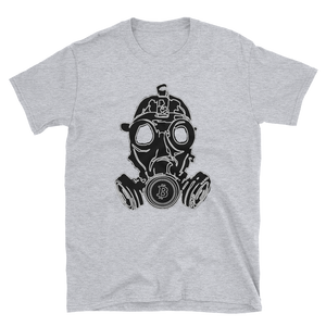 Bitcoin Gas Mask Unisex T-Shirt