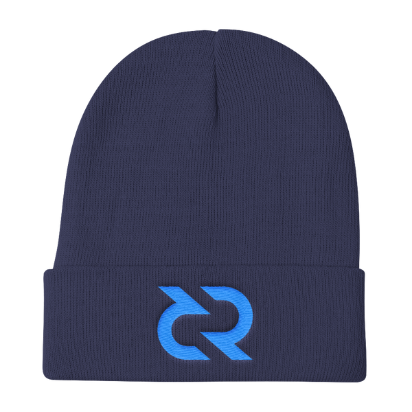 Decred Knitted Beanie