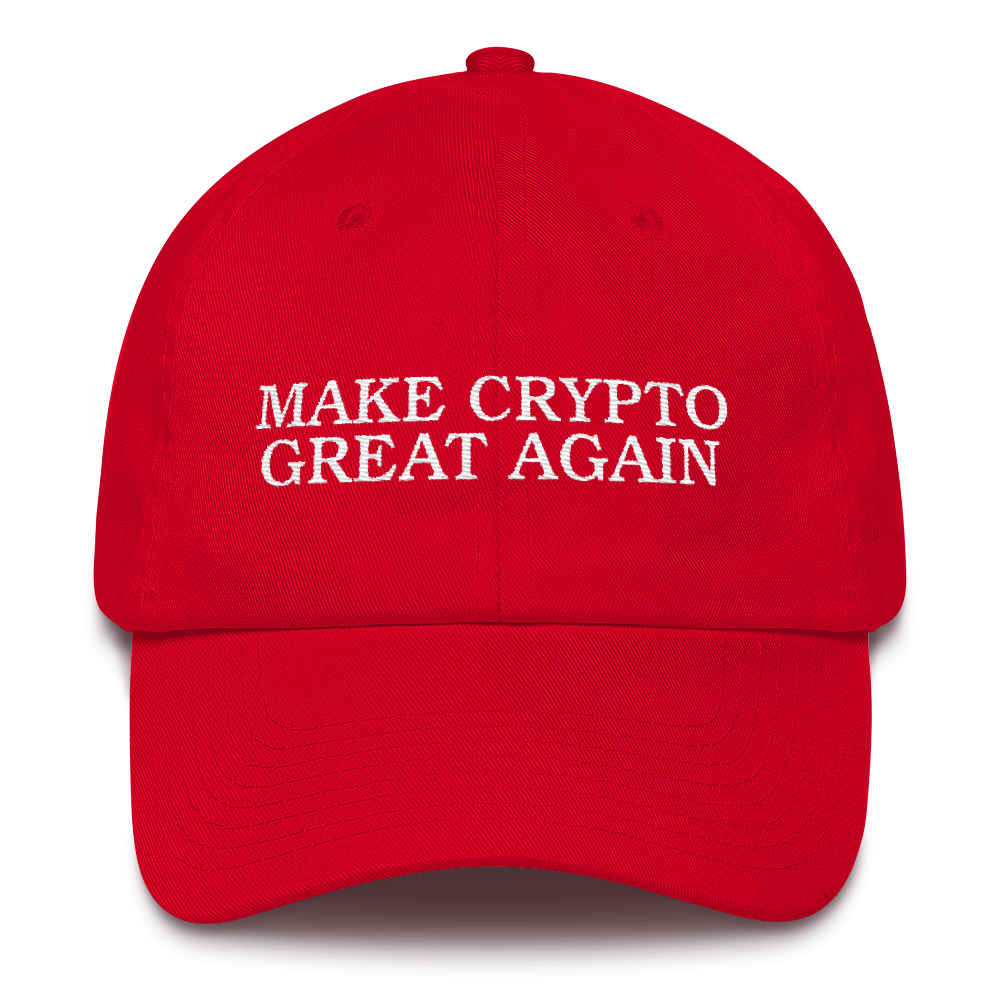 Make Crypto Great Again Dad Hat