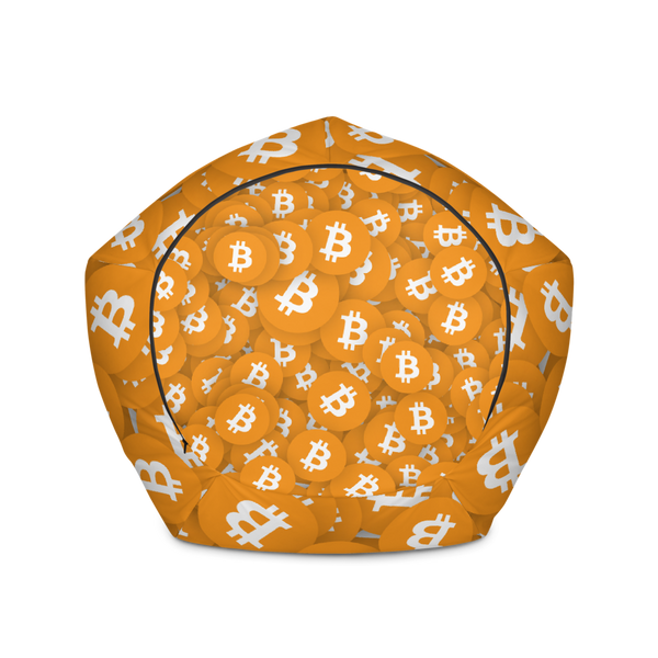 Bitcoin Bean Bag Chair w/ filling