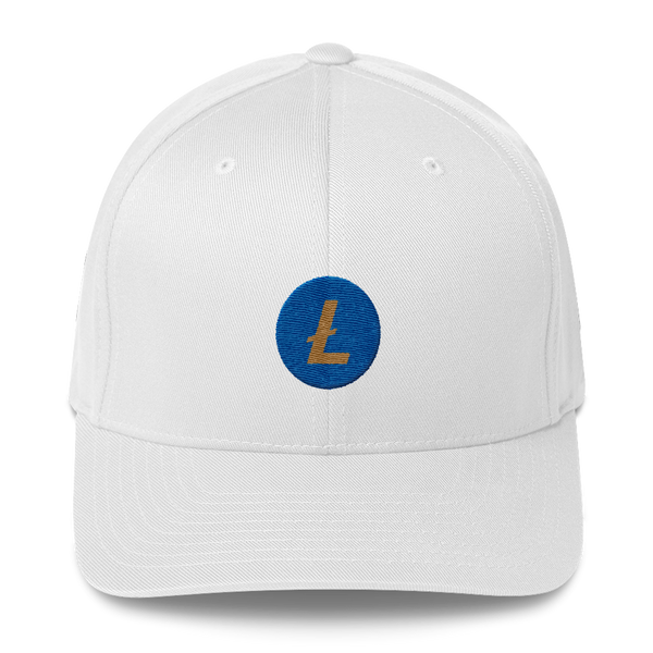 Circular Litecoin Vegas Knights Fitted Hat