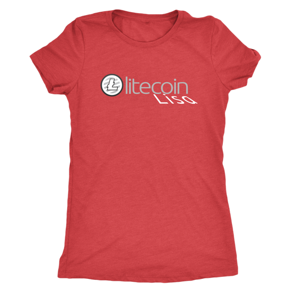 Litecoin Lisa Womens Tee