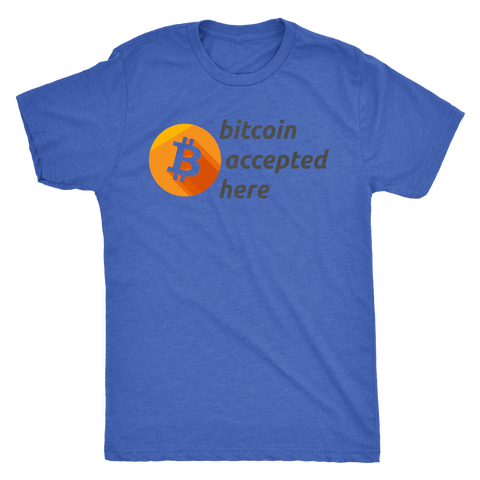 Bitcoin Accepted Here Tee