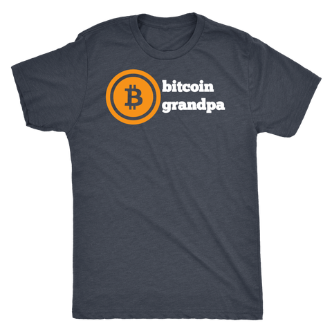 Bitcoin Grandpa High Quality Tee