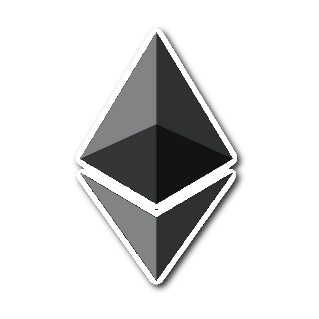 Ethereum sticker