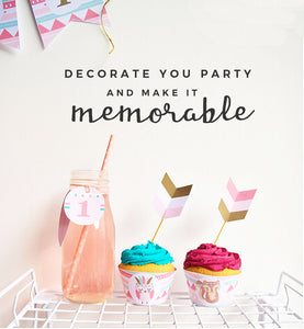 printable party kit triba boho