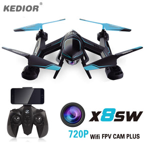 X8SW Quadrocopter RC Drone Quadcopter With WiFi FPV Camera