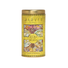 Jarved Teas and Coffee of The World Gift Set-15 Teas from 10+ countries | Mysore Instant Coffee | Set of 2 Tin Boxes | 150g Each