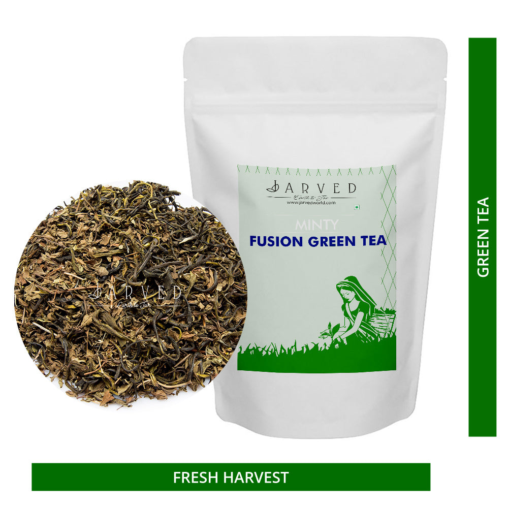 Jarved Minty Fusion Green Tea: Moroccan Mint and Green Tea