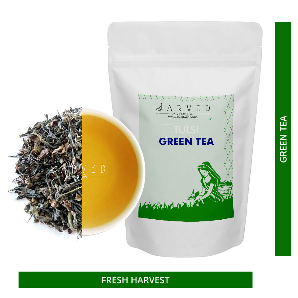 Herbal Tulsi Green Tea