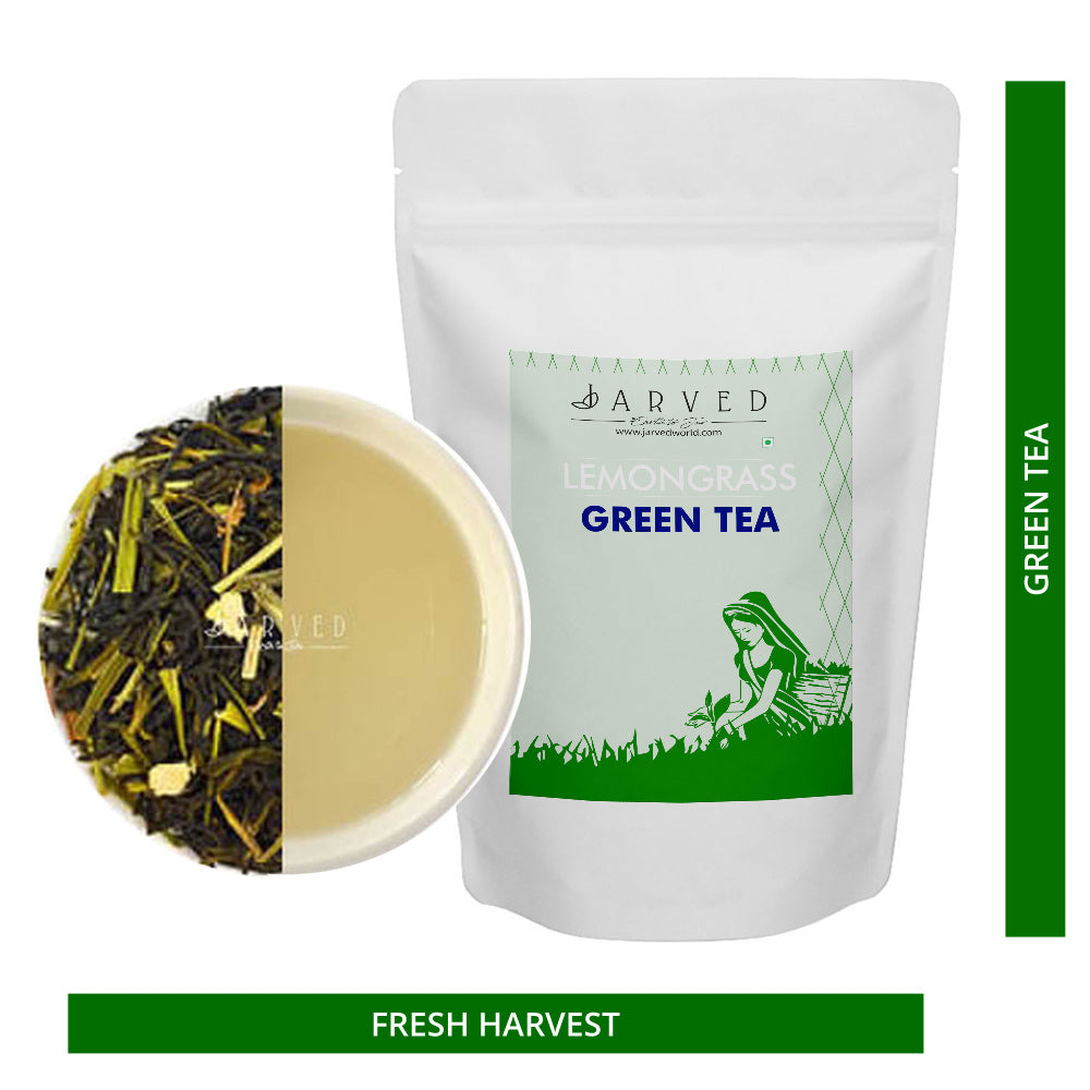 Jarved Immunity booster tea: Lemongrass, Tulsi and Green Tea