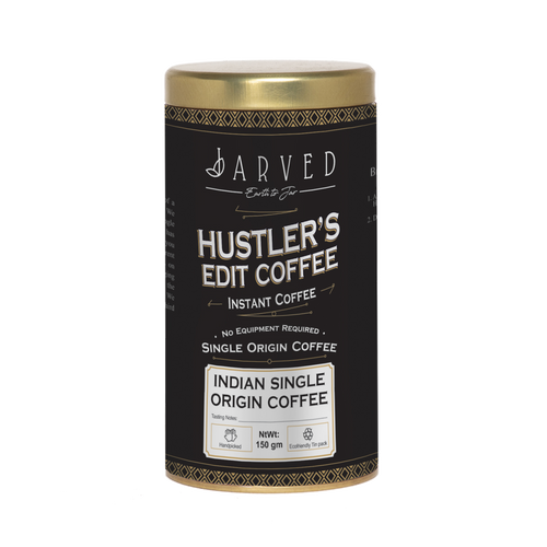 Jarved Hustler's Edit Coffee- Arabica Instant Coffee | 150g