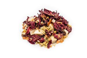Jarved Turkish Delight Tea: Hibiscus, Chamomile, Cinnamon and Cocnout