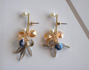 Pearl Stone  Earrings - classvips.com