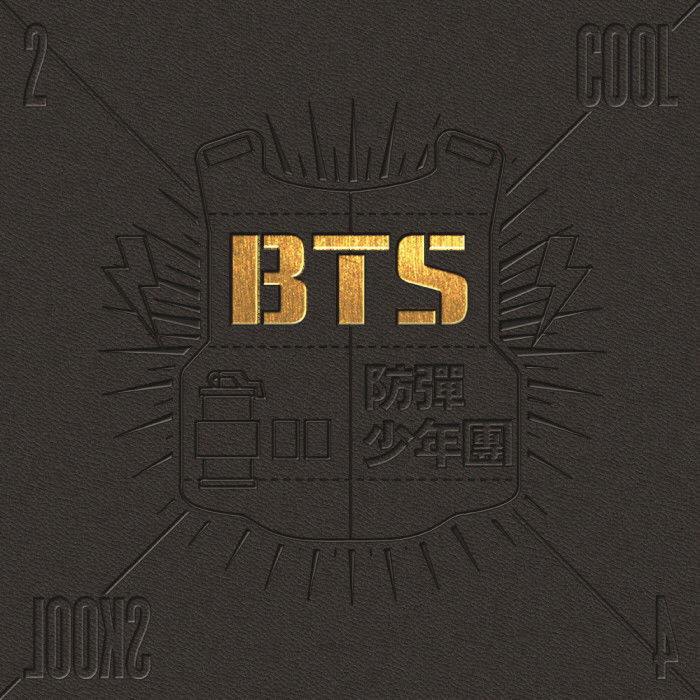 BTS [2 COOL 4 SKOOL] 1st Single Album