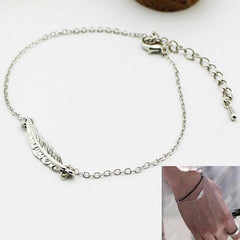 KPOP BTS Feather Bracelet