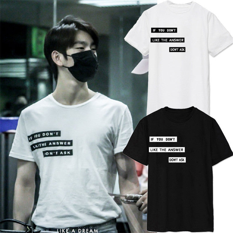 KPOP Jin-young Airport T-shirt