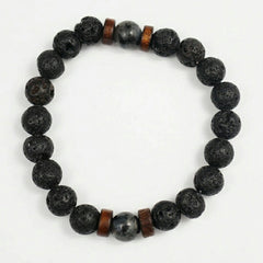 Natural Lava Rock Stone Bracelet