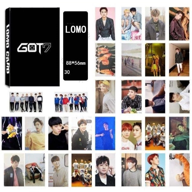 30 PCS / GOT7 Lomo Card