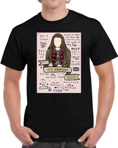 13 Reasons Why - Hannah Baker T-Shirt