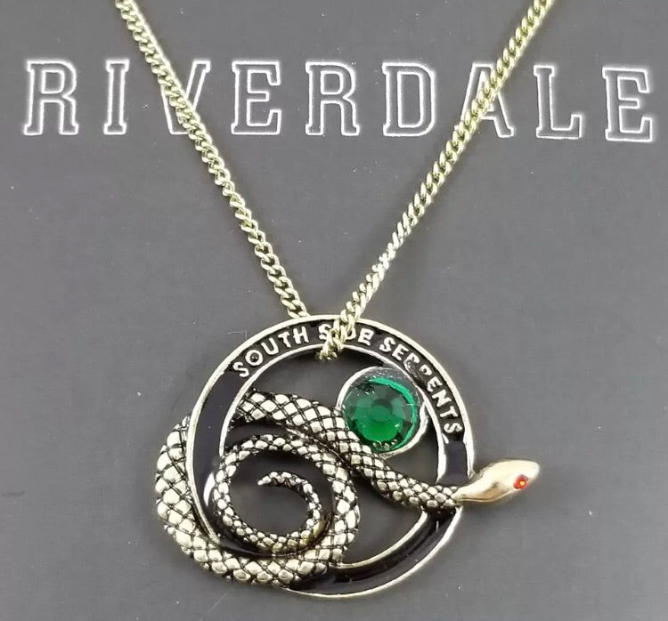 Riverdale Southside Serpents Pendant Necklace