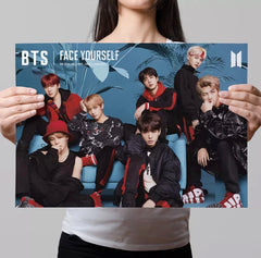 BTS FACE YOURSELF WALL POSTER | WALL PAPER