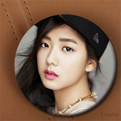 Youpop Kpop Korean Fashion Black Pink Blackpink Album BOOMBAYAN Brooch Pin Badge Accessories For Clothes Hat Backpack