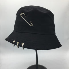 BTS Iron Ring Bucket Hats popular style cap 100% handmade rings