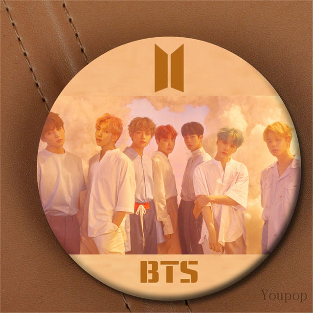 BTS Love Yourself Concept Brooch