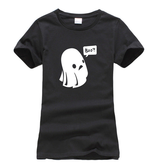 2017 new Kawaii All Saints' Day Print T-shirt