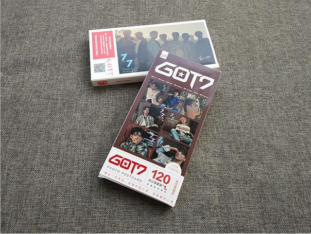 Kpop BTS EXO Twice Got7 Seventeen MonstaX  photocards 121pcs
