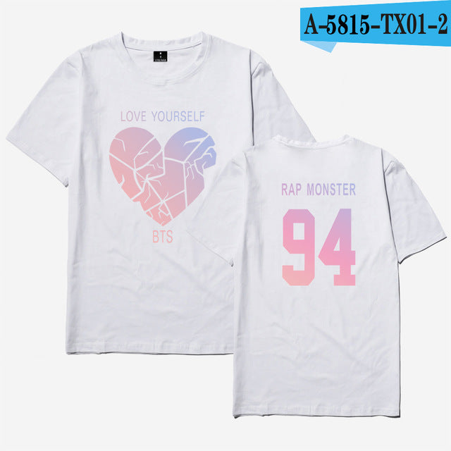 BTS Love Yourself Broken Heart T-Shirt