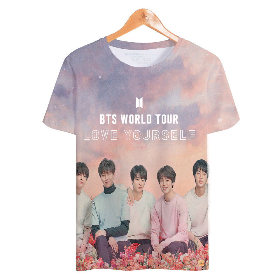 BTS LOVE YOURSELF WORLD TOUR T-SHIRT