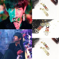 BTS SINGULARITY LOVED Earring