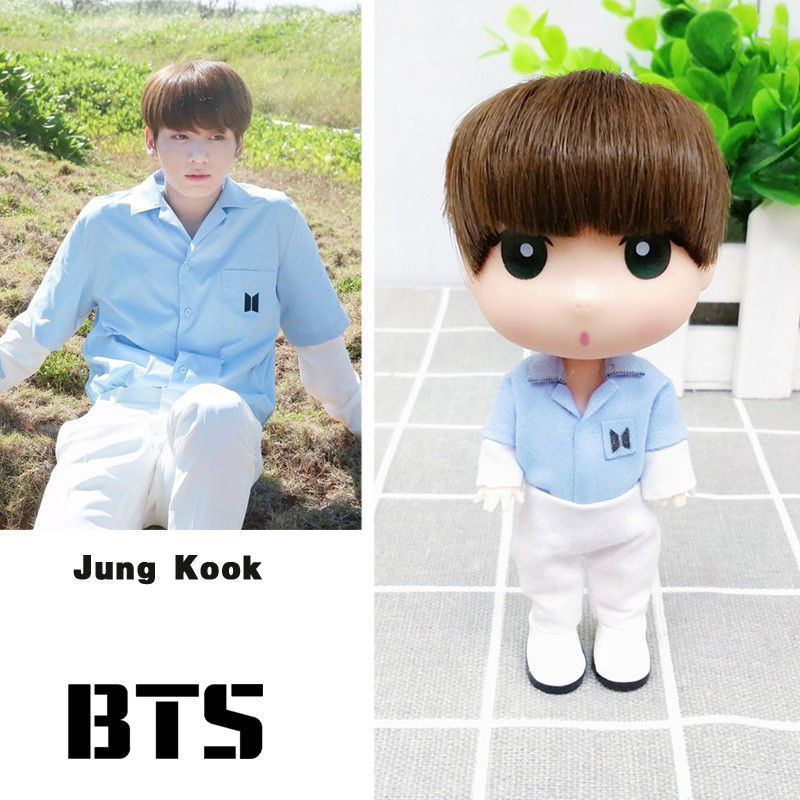 "BTS Love Yourself JungKook 13 cm/5"" Figure Model Toy Doll"