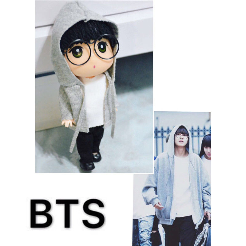 "BTS Doll Kim TaeHyung 13cm/5"" Figure Handmade Model Toy"