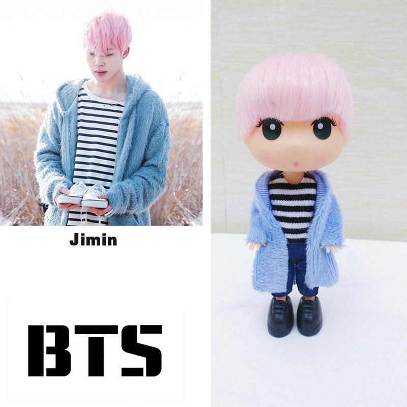 "BTS Love Yourself Jimin Doll 13cm/5"" Mini Figure Model Toy Fans"