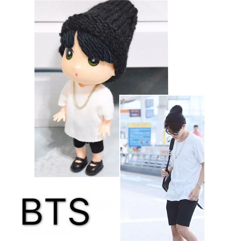 "BTS Jimin Doll 13cm/5"" Handmade Figure Model Toy"