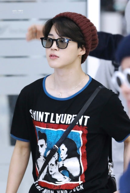 BTS 'Jimin' SAINT LAURENT T-Shirt