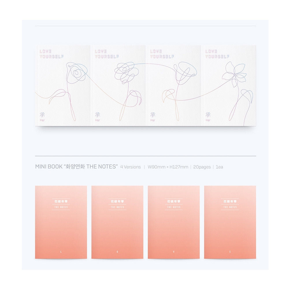 BTS LOVE YOURSELF 承 'Her' 4versions
