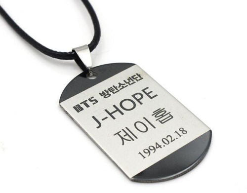 KPOP BTS Pendant Necklace