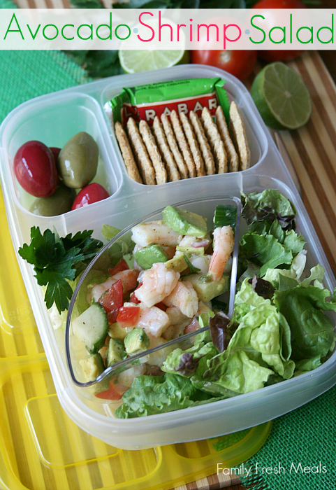 lunchbox for work packed with salad