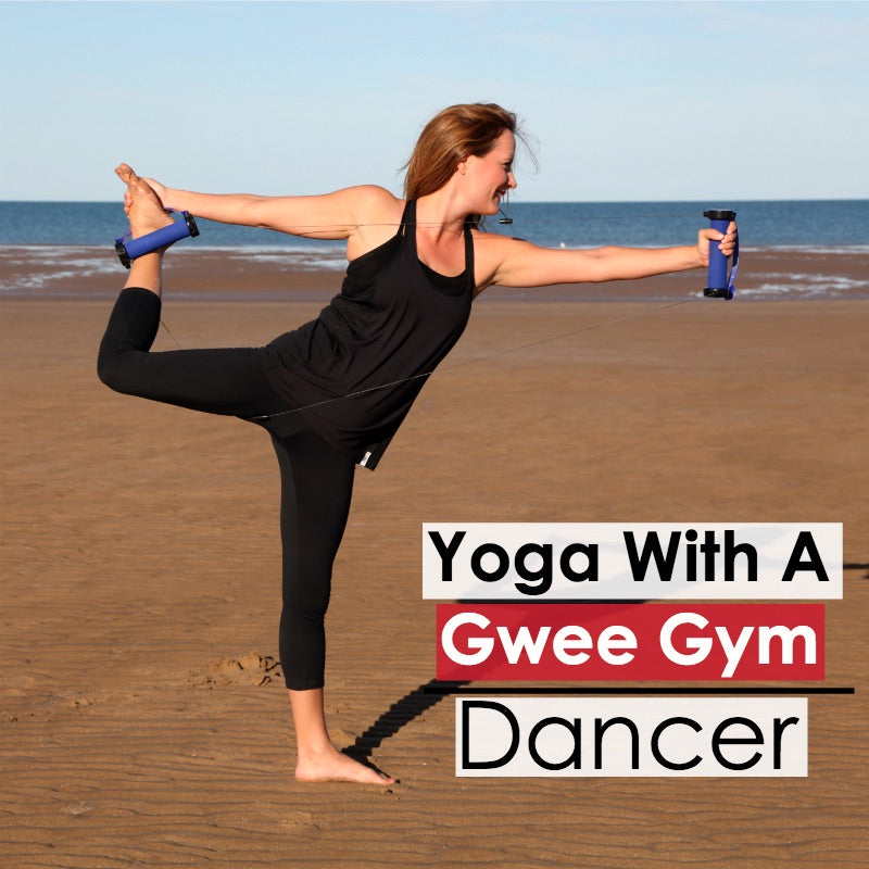 Dancer Pose Version 1: How To Do Yoga with a Gwee Gym
