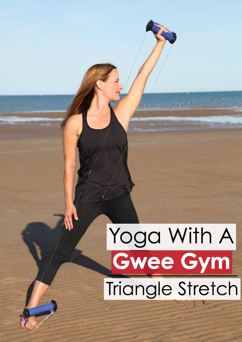 Triangle Stretch: Poses To Do With The Gwee Gym
