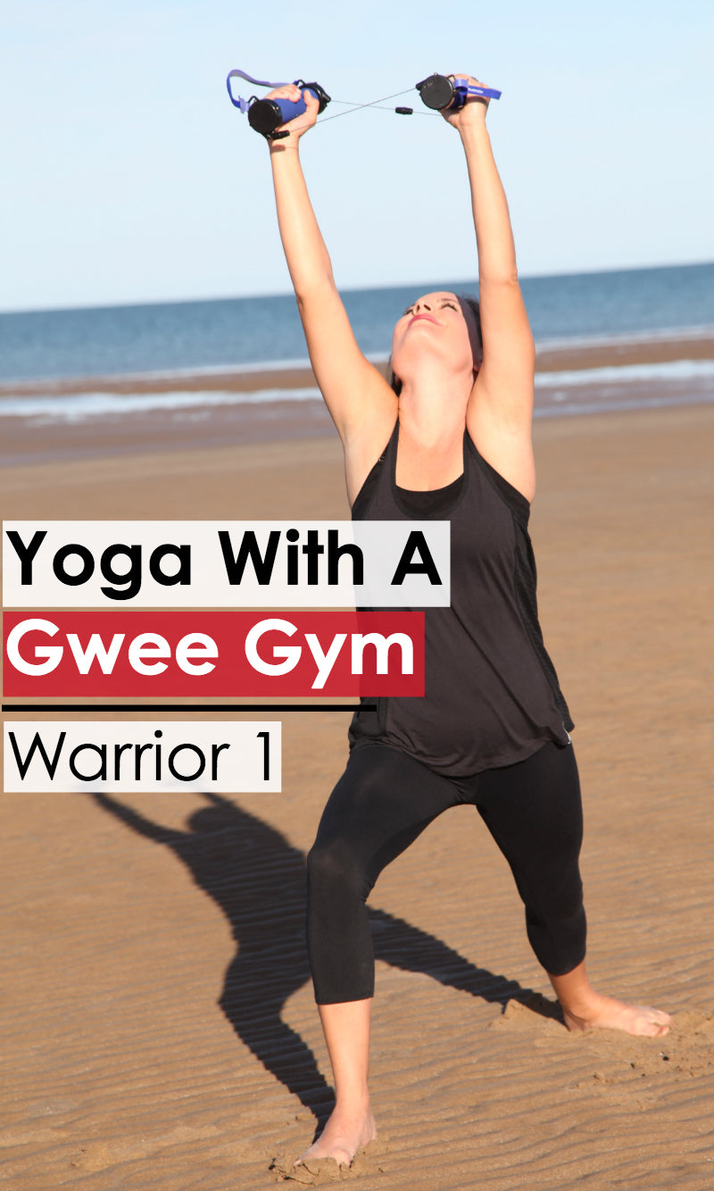 Warrior One: Yoga Poses with the Gwee Gym