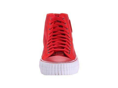 PF Flyers Unisex Center Hi Red Sneakers Men's 15, Women's 16.5 Medium